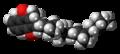 Menatetrenone molecule spacefill.png