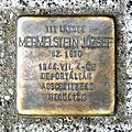 Mermelstein József stolperstein Szombathely Fő tér 5.jpg