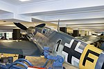 Messerschmitt Bf 109 G-6 side in Museum of technique 2016-08-16.JPG