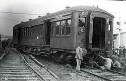Metro Cammell wagon of the Buenos Aires Western Railway.jpg