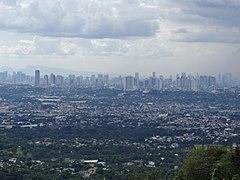 Metro Manila view - Central Manila, Cubao, Marikina (Mount Maarat, San Mateo, Rizal)(2017-11-19)