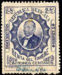 Mexico 1879 documentary revenue 67 Tamaulipan.jpg