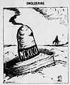 Mexico is smoldering by Bob Satterfield 1919.jpg
