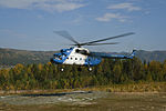 Mi-8 taking off. (6174927776).jpg
