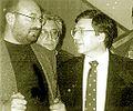 Michael Dorfman with Yossi Beilin.jpg