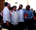 Michel Meissonier, et ses disciples d'Escoffier au concours des vins d'Avignon.JPG