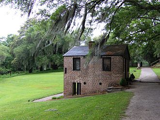 Middleton Place - Middleton Place springhouse and chapel