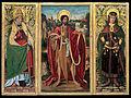 Miguel Ximénez - Saint John the Baptist, Saint Fabian and Saint Sebastian - Google Art Project.jpg
