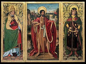 Saint John the Baptist, Saint Fabian and Saint Sebastian
