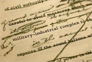 Eisenhower's farewell address - A draft of the farewell address, showing handwritten edits.