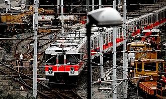 Milan Metro - A line M1 train