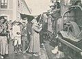 Militares na gare do Entroncamento - Ilustracao Portuguesa 414 1914.jpg