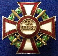 Military Merit Cross 1st class with war decoration badge (Austria 1916-1918) - Tallinn Museum of Orders.jpg