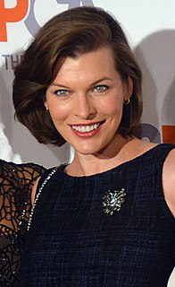 Milla Jovovich American actress, model, and musician