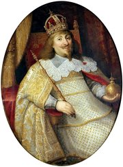 Portrait of Ladislaus IV Vasa in coronation robes