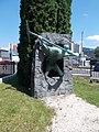 Miner's monument by Károly Vasas, 2020 Salgótarján.jpg