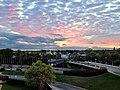 Minneapolis sunset off of a parking ramp - panoramio.jpg