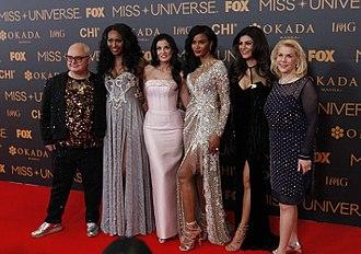 Miss Universe 2016 - Judge panel of Miss Universe 2016.