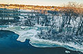 Mississippi River in Sauk Rapids, Minnesota - Winter (24042692152).jpg