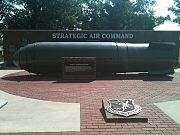 Mk 17 thermonuclear bomb, Strategic Air Command Memorial in Fort Worth NAS JRB, TX