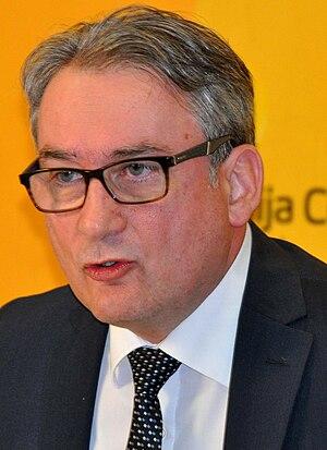 Bosnian general election, 2014 - Image: Mladen Bosic mc.rs