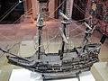 Modellino della nave de maagd van gent, 1674, 02.JPG