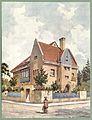 Moderne Villen in Meisteraquarellen Serie II Tafel 024 München Villa Prinz-Ludwigs-Höhe.JPG