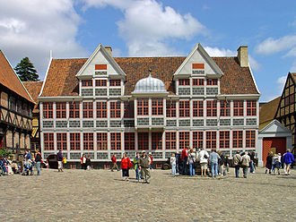The Old Town - The Coin Master's Mansion. Reconstructed in 1998-2009.