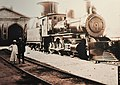Mogul 2-6-0 locomotive at Jingzhang railway.jpg