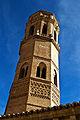 Monasterio de Rueda, torre vista desde el claustro.jpg