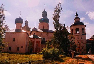 Kirillo-Belozersky Monastery - Image: Monastero di Kirilla Belozersky 04