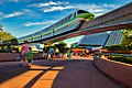 Monorail Lime Soars Over Imagination Pavilion (112369355).jpeg