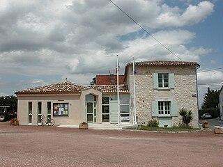 Montazeau Commune in Nouvelle-Aquitaine, France