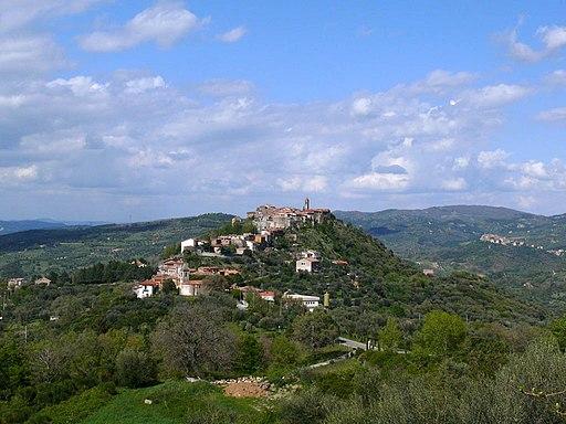 Montegiovi, panorama