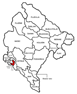 Tivat Municipality in مونٹینیگرو