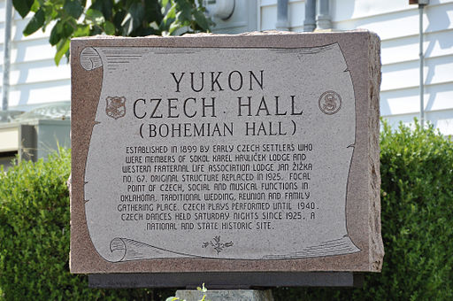 Monument, Czech Hall, Yukon, OK