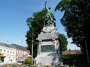 Caudry - Image: Monuments aux morts Caudry