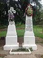 Monumentul frăţiei de arme româno-franceze (1916 - 1919) - plan apropiat.JPG