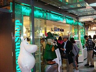 Moomins - Moomin Shop at Helsinki Airport