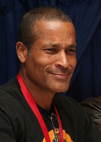 Phil Morris (actor) - Morris at the 2009 New York Comic Con