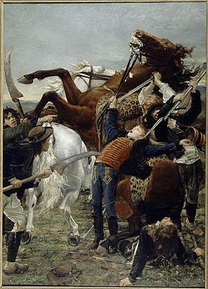 War scythe - Image: Mort de Bara Jean Joseph Weerts