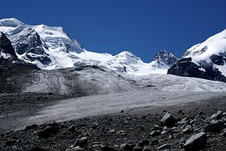 Bernina Range - Morteratsch Glacier