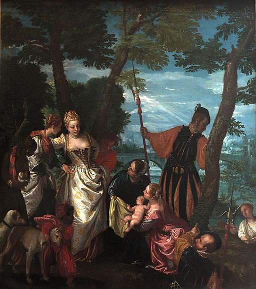 Moses saved from the water-Veronese-MBA Lyon A66-IMG 0313