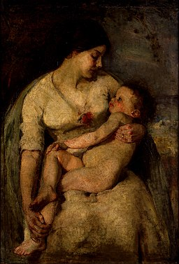 Mother and child (Te Papa, 1983-0069-1)