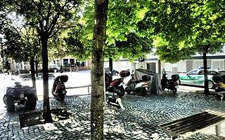 Motorradparkplatz Schweinfurt Judengasse