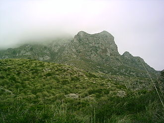 Artà - Image: Mountains arta 2006
