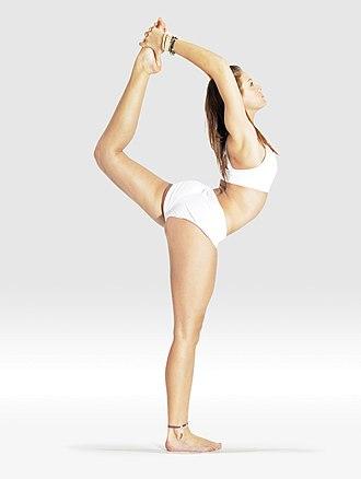 Natarajasana - lord of the dance pose