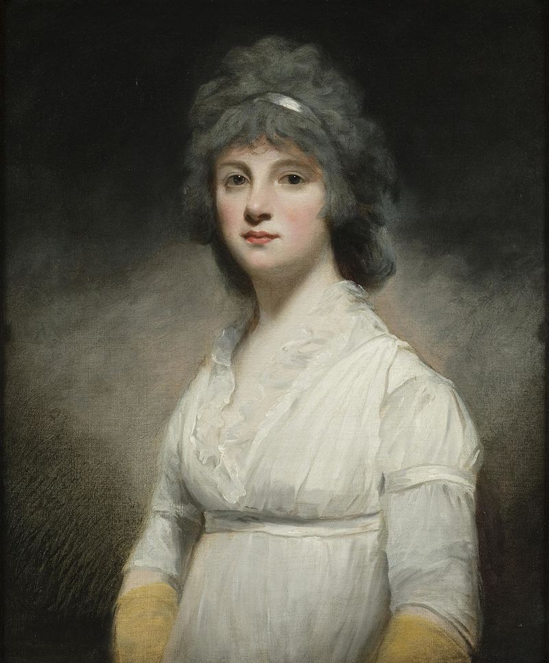 Миссис Ханна Баркер Уэбб, Джон Хоппнер, c 1793 года.JPG