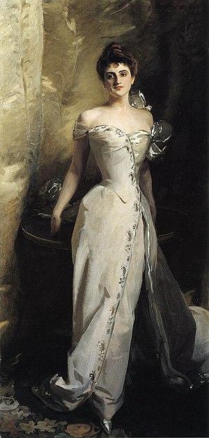Ralph Wormeley Curtis - Mrs Ralph Curtis (Lisa de Wolfe Colt), John Singer Sargent, 1898
