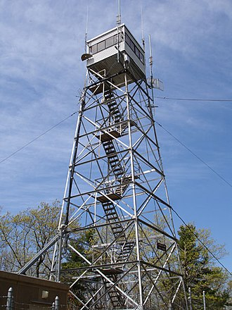 Mount Toby - The Mount Toby Fire Tower